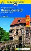 BVA Radwanderkarte Radregion Münsterland Kreis Coesfeld 1:50.000