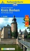 BVA Radwanderkarte Radregion Münsterland Kreis Borken 1:50.000