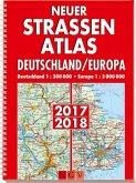 Neuer Straßenatlas Deutschland/Europa 2017/2018