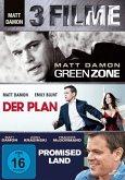 Green Zone, Der Plan, Promised Land DVD-Box