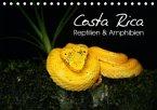 Costa Rica - Reptilien und Amphibien (Tischkalender 2017 DIN A5 quer)