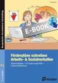 Förderpläne schreiben: Arbeits- & Sozialverhalten (eBook, PDF)