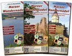Harzer Wandernadel, Offizielle Wanderkarte, 3 Bl.