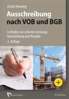 Ausschreibung nach VOB und BGB - Henning, Achim