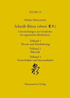 Schreib-Riten (shorei) Untersuchungen zur Geschichte der japanischen Briefetikette (eBook, PDF) - Rüttermann, Markus