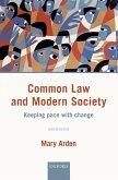 Common Law and Modern Society (eBook, ePUB)
