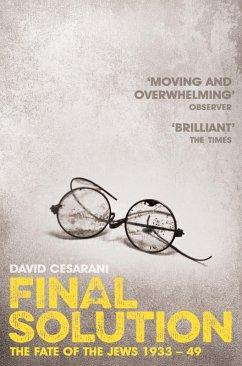 Final Solution (eBook, ePUB) - Cesarani, David