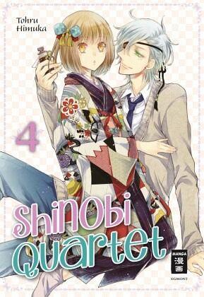 Buch-Reihe Shinobi Quartet