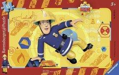 Ravensburger 06125 - Sam in Action, Rahmenpuzzle 15 Teile
