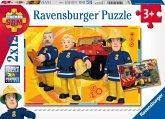 Ravensburger 07584 - Sam im Einsatz, 2 x 12 Teile Puzzle