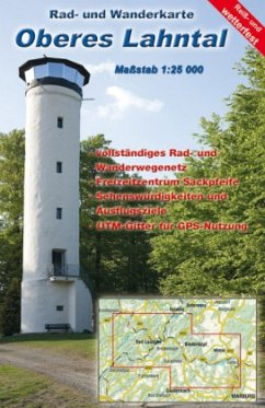 KKV Rad- und Wanderkarte Oberes Lahntal