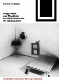 Programme und Manifeste zur Architektur des 20. Jahrhunderts (eBook, PDF)