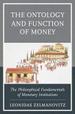 The Ontology and Function of Money (eBook, ePUB)
