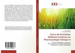 Cours de Formation Médicale Continue en Pharmacologie Clinique 4