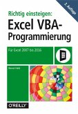 Richtig einsteigen: Excel VBA-Programmierung (eBook, ePUB)