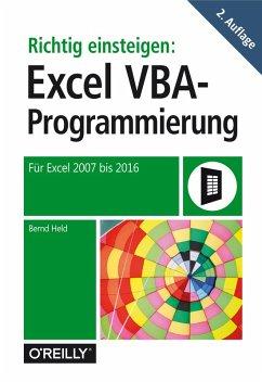 Richtig einsteigen: Excel VBA-Programmierung (e...