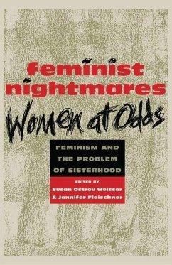Feminist Nightmares: Women At Odds (eBook, PDF) - Weisser, Susan Ostrov