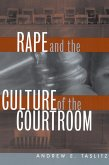 Rape and the Culture of the Courtroom (eBook, ePUB)