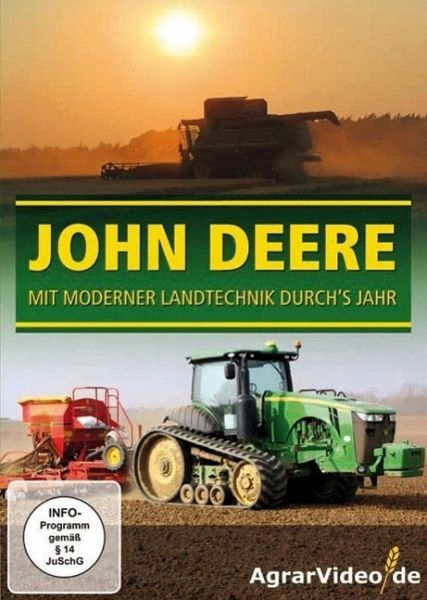 john deere mit moderner landtechnik durchs jahr 1 dvd. Black Bedroom Furniture Sets. Home Design Ideas