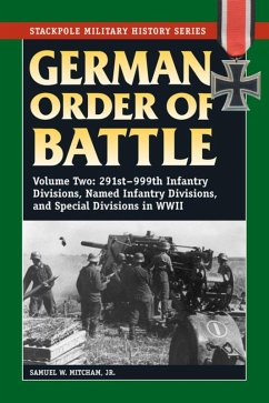 German Order of Battle (eBook, ePUB) - Mitcham, Samuel W.