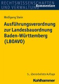 Ausführungsverordnung zur Landesbauordnung Baden-Württemberg (LBOAVO) (eBook, PDF)