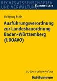 Ausführungsverordnung zur Landesbauordnung Baden-Württemberg (LBOAVO) (eBook, ePUB)