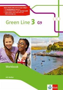 Green Line 3 G9. Workbook mit 2 Audio-CDs Klasse 7