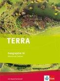 TERRA Geographie für Sachsen 10. Schuljahr - Ausgabe für Mittelschulen/Oberschulen. Schülerbuch.