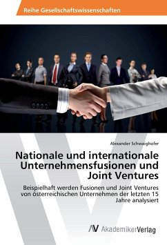 Nationale und internationale Unternehmensfusionen und Joint Ventures