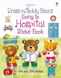 Dress the Teddy Bears Going to Hospital Sticker...