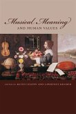 Musical Meaning and Human Values (eBook, PDF)