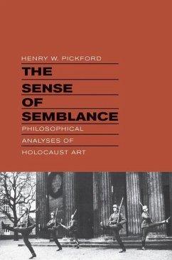 Sense of Semblance (eBook, PDF) - Pickford, Henry W.