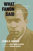 What Fanon Said (eBook, ePUB)