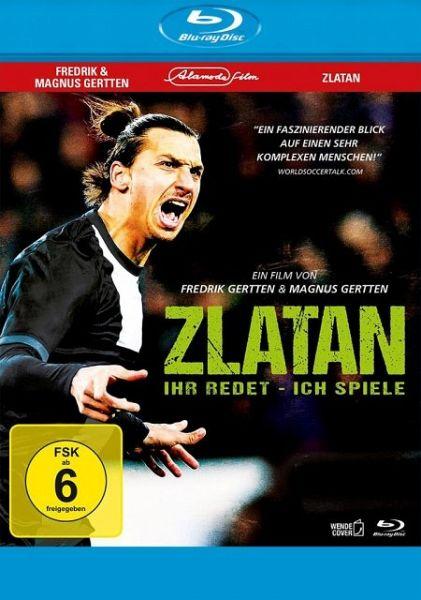 Zlatan: Ihr redet - ich spiele (OmU) - Film auf Blu-ray ...