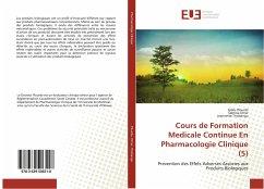 Cours de Formation Medicale Continue En Pharmacologie Clinique (5)
