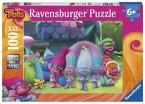 Ravensburger 10928 - Trolls, Spaß mit den Trollen, Puzzle 100 Teile