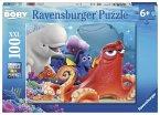 Ravensburger 10875 - Dorys Abenteuer, 100 Teile Puzzle