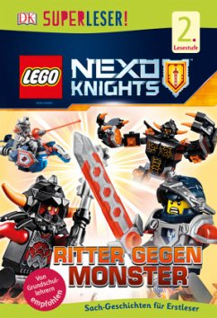 SUPERLESER! LEGO® NEXO KNIGHTS(TM). Ritter gegen Monster / Superleser 2. Lesestufe Bd.9 - March, Julia