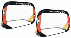 Hudora 76994 - Fußballtor Pop Up, 2er Set