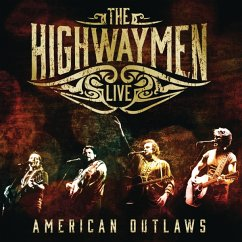 Live - American Outlaws (3-Cd/Dvd) - Highwaymen,The