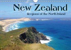 New Zealand - Regions of the North Island 2017