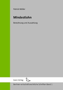 Mindestlohn - Müller, Patrick