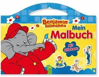 Benjamin Blümchen Mein Malbuch Portofrei Bei Bücher De Bestellen