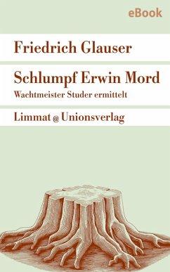 Schlumpf Erwin Mord - Wachtmeister Studer (eBook, ePUB) - Glauser, Friedrich