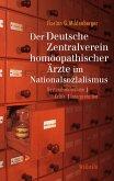 Der Deutsche Zentralverein homöopathischer Ärzte im Nationalsozialismus (eBook, PDF)