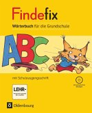 Findefix Wörterbuch in Schulausgangsschrift mit CD-ROM