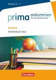 Prima ankommen Deutsch: Klasse 5-7 - Arbeitsbuch DAZ mit Lösungen