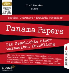 Panama Papers, 2 MP3-CDs - Obermayer, Bastian; Obermaier, Frederik