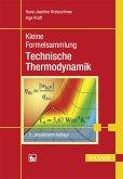Kleine Formelsammlung Technische Thermodynamik (eBook, PDF)