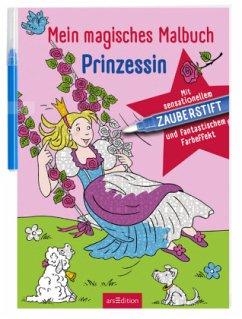 9783845815664 - Illustration: Helge Glatzel-Poch: Mein magisches Malbuch Prinzessin - Livre